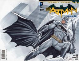 Batman blank cover by mrno74