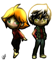 Toth Chibis By Paramount235 by lunar--cat1364