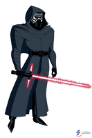 Kylo Ren - DCAU Style by JTSEntertainment