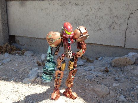 Samus: Tectonic Varia Suit MOC by rammos