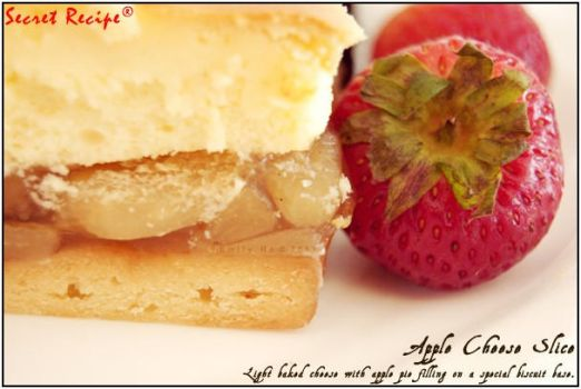 Apple cheese slice by pinkybing