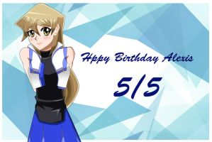 .: Happy late Birthday Alexis :. by Sincity2100