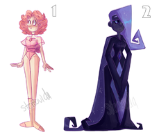Gemsona adoptables! points and paypal -OPEN- by LuckyCat99