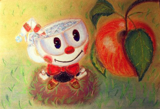 Cuphead ^^ by ZombieLooney
