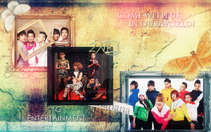 Big Bang and 2NE1 wallpaper by Alysu08
