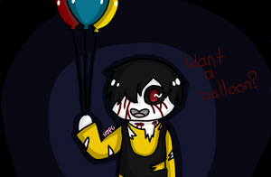 The Lost Child - Want a Balloon? by HopefulEntertain