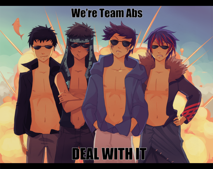 Team Abs - Deal with it by Uberzers