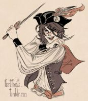 Calista the Piratess by CrystalCurtisArt