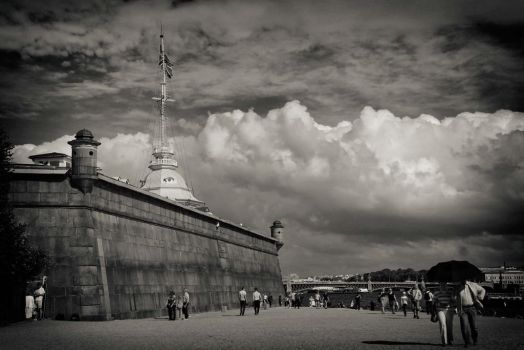 St. Petersburg Peter and Paul Fortress by Galiades
