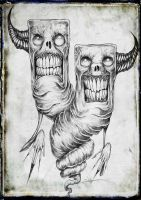 Comedy and Tragedy by ShawnCoss