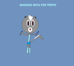 Magical Diva Zoe Trent:  My Ally Pepper Cover by mewmewspike