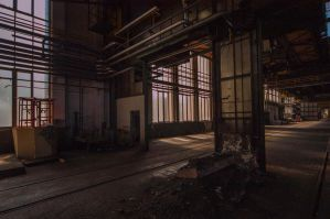 Old Iron: Frome one hall to the other by IanMcAllister
