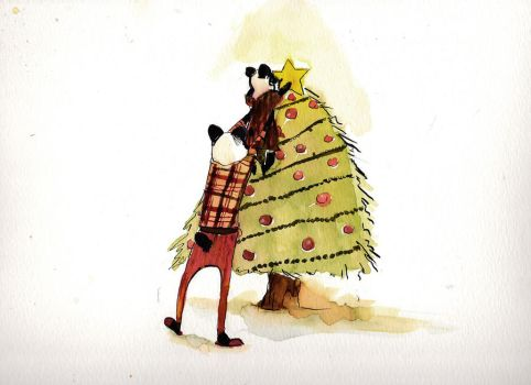 Christmas Greeting Card by PatentRose