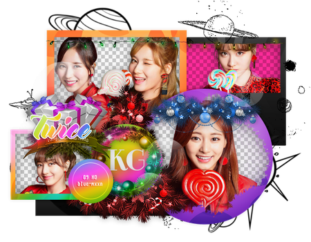 TWICE | CANDY POP | PACK PNG #2 by KoreanGallery