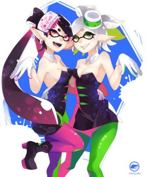 Squid Sisters by Nanoless