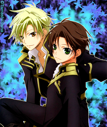 07-Ghost - Mikage and Teito by TamashiiSama