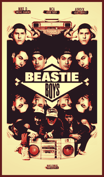 BEASTIE BOYS - 44MP by marcoprincipiDEVIANT