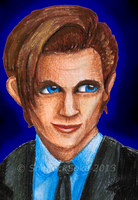 Matt Smith by Chrisily