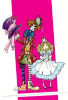 Alice and Hatter by Rhysenne
