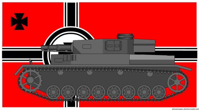 Pz.Kpfw IV Ausf F1 by Northern-Dash