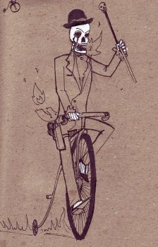 Victorian Age Ghost Rider by creepstown