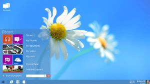 Windows 8 for desktops by RVanhauwere