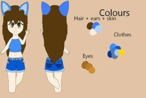 ref sheet by MyaisHere