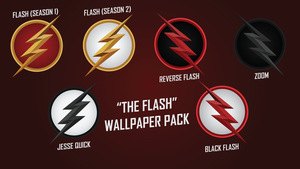 The Flash CW Wallpaper Pack by GodsNotDead88123