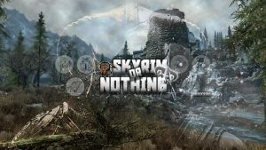 Channel Art - Skyrim OR Nothing by LucasZanella