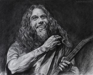 Tom Araya by Bagirushka
