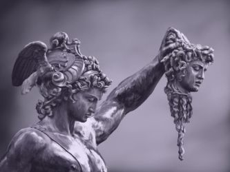 Perseus with the Head of Medusa by Irbeus