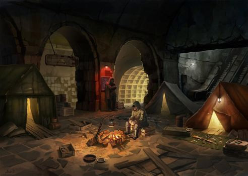 Metro 2033 by Andr-X