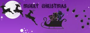 My Little Pony Christmas Facebook Cover by TheNocturnalMelody