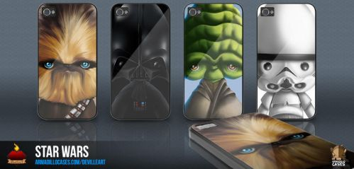Star Wars Gadget Cases by capdevil13
