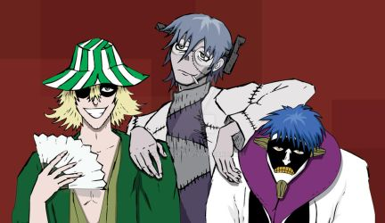 Bleach x Soul Eater: Three Mad Scientists! by khamarupa