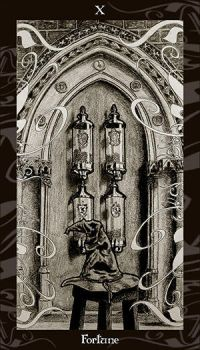 HP Tarot - 10 Fortune by Ellygator
