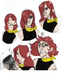 Redheaded Request by Firebeholden
