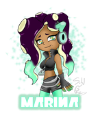 Splatoon2 Marina by ShujiWakahisaa