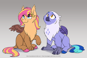 Magnolia and Arvid's Daughters by RaynesGem