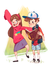 Gravity Falls by Uxia15