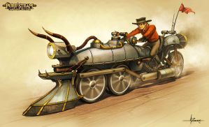 PURE STEAM - Coalcycle by 47ness