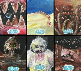 Star Wars Monsters by DarthMetalis