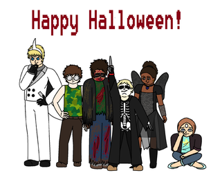 Happy Halloween! by Soul-Of-Bravery