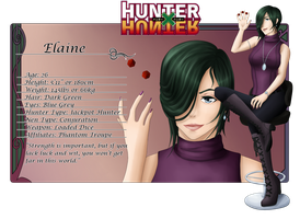 Hunter x Hunter: Elaine by TigerBites