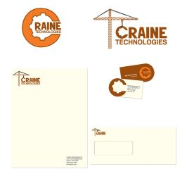 Collateral Design - Craine Technologies by livewiredstudios