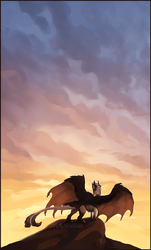I Sometimes Think of Us Sharing the Same Sky by VolVokun