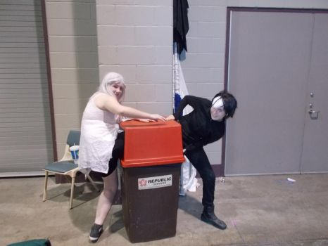 Some cosplay is for the trash I suppose by Rift120