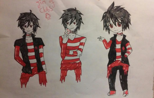 Creepypasta OC: Jim of Clubs by Black-Crow-Feathers