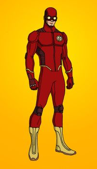 The Flash: Redesign by Elayem