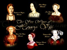 The Six Wives of Henry VIII by Comtessedelalune